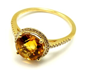 Stunning Citrine Ring