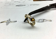 Golden Sapphire Ring Normally $2950.00 NOW $1475.00
